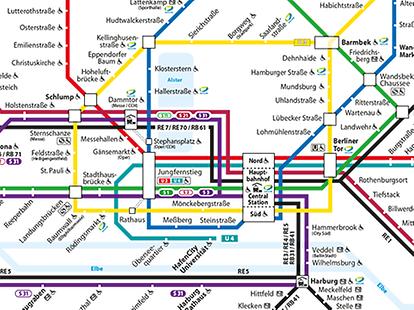 hamburg hvv karte HVV   Maps   Overview